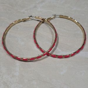 Style and co hoop earrings